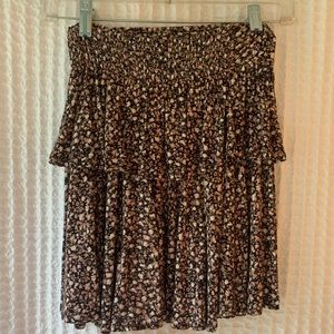 Nordstrom BP Frenchi Tiered Floral Skirt